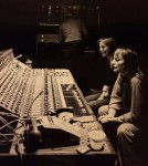 Image of Saffron Summerfield & Barbara Thompson listening to playback at Livingstone Studios London