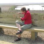 Saffron's Soundbench, Rye Harbour Nature Reserve