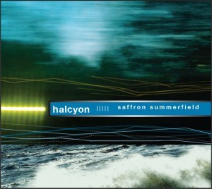Image of CD Cover of 'Halcyon' Album by Saffron Summerfield