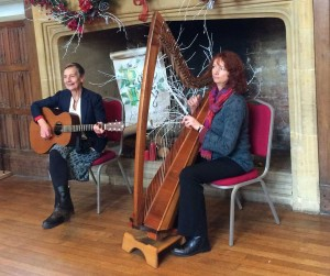 Daffron Summerfield & Hazel Prior Performing at Dunster Castle