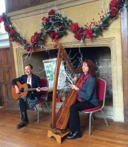 Saffron & Hazel at Dunster Castle