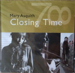 CD Cover Of 'Closing Time' by Mary Asquith