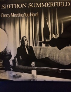 Image of Front Cover of 'Fancy Meeting You Here' Album by Saffron Summerfield