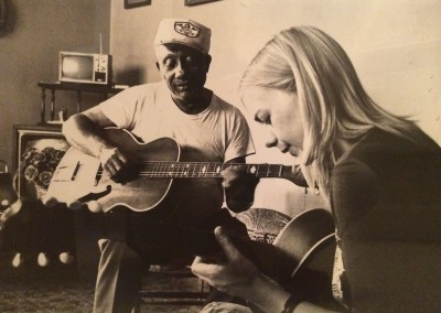 Saffron with Eugene Powell in Mississippi 1977