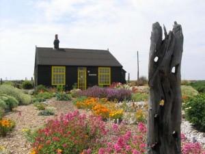 Derek Jarman's cottage Dungeness