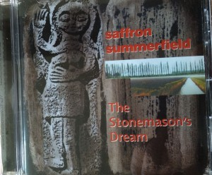 Image of the CD Cover of the album 'The Stonemason's Dream' by Saffron Summerfield